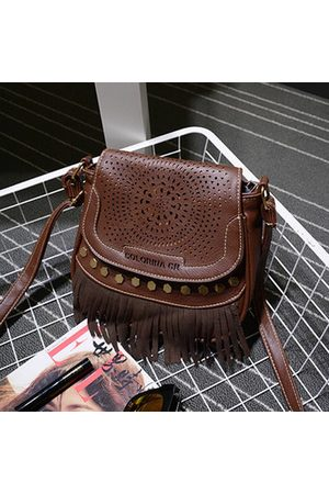 Newchic Hollow Out National Style Tassel Crossbody Bag Shoulder Bags