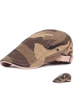 Newchic Camouflage Cotton Beret Cap Travel Adjustable Visors Hat