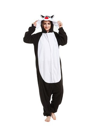 Newchic Women Nightdresses & Shirts - Polar Fleece Footed Pajama Cosplay Unisex Sleepwear