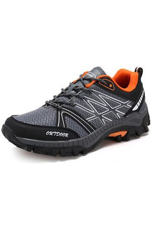 Newchic Men Shoes - Men's Fabric Breathbale Outdoor Wearable Lace Up Sport Casua
