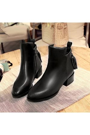 Newchic Calfskin Leather Boots