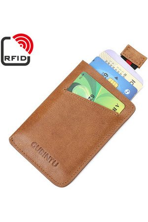 Newchic RFID Antimagetic Genuine Leather Wallet For Men