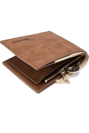 Newchic PU Leather 8 Card Slots Bifold Vintage Wallet For Men
