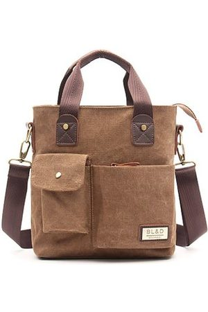 Newchic Canvas Crossbody Bag Casual Handbag Briefcase For Men