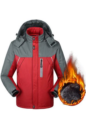 Newchic Mens Plus Size Winter Jackets Windbreaker