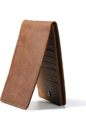 Newchic Men Leather Wallet Cellphone Bag