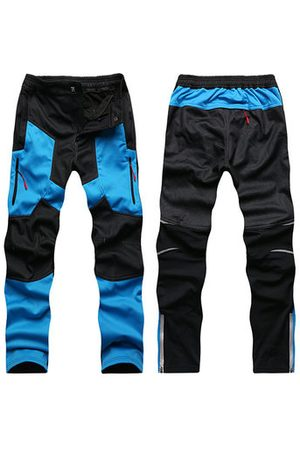 Newchic Mens Patchwork Thicken Thermal Super Breathable Cargo Pants