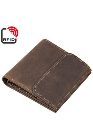 Newchic RFID Antimagetic Leather Wallet