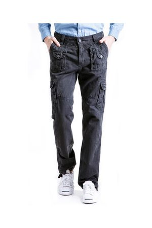 Newchic Men Cargo Pants - Mens Outdoor Multi-pocket Casual Cotton Cargo Pants
