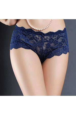 Newchic Women Briefs - Mid Cut Seamless Panties Cotton Comfy Lace Sexy