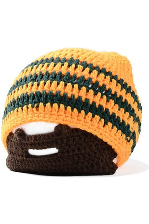 Newchic Knitted Helmet Beanies With Wig Beard Halloween Face Mask