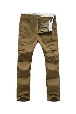 Newchic Mens Outdoor Multi-pockets Tactical Cargo Pants