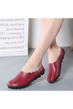 Newchic Women Loafers - Comfortable Slip On Soft Flat Backless Loafers