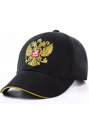 Newchic Men Caps - Russian National Cotton Emblem Embroidery Baseball Cap