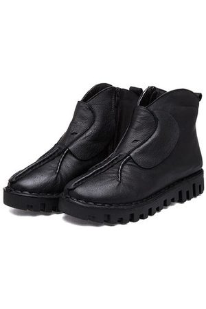 Newchic Leather Soft Boots