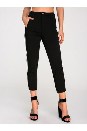 Newchic Hit Color Casual Straight Pants