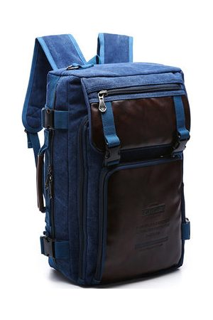 Newchic Men Laptop Bags - Canvas Casual Travel Backpack For Men