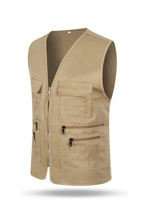 Newchic Mens Outdoor Volunteer Vest
