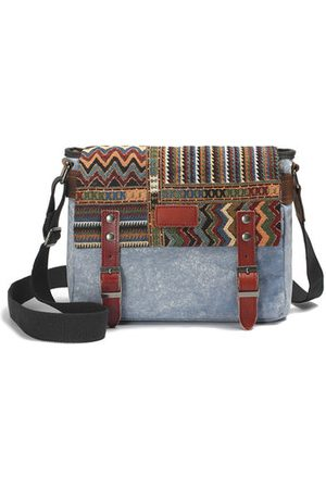 Newchic Canvas National Style Crossbody Bags
