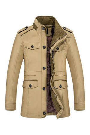 Newchic Plus Size Mens Outdoor Jackets