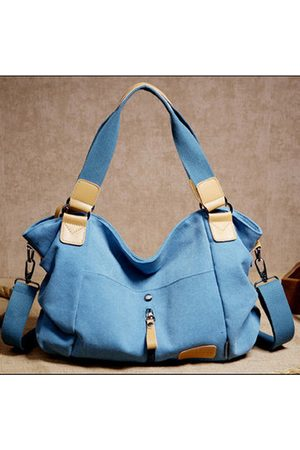 Newchic Women Handbags - Women Canvas Duffle Bag