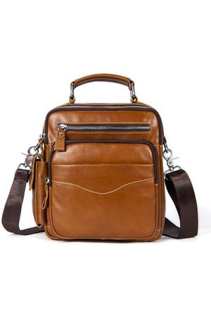 Newchic Men Laptop Bags - Genuine Leather Business Crossbody Bag For Men