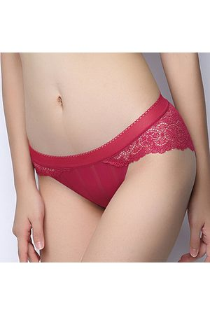 Newchic Breathable Cotton Crotch Thin Panties