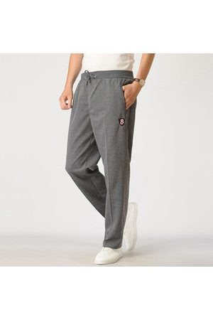 Newchic Men Shorts - Mens 100%Cotton Thicken Solid Sports Trousers