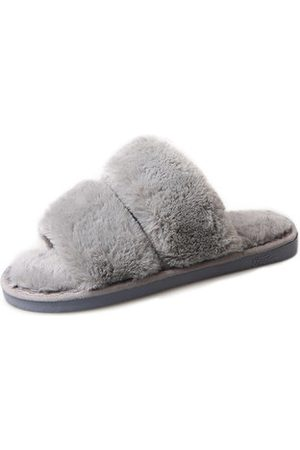 Newchic Rabbit Fur Home Slippers