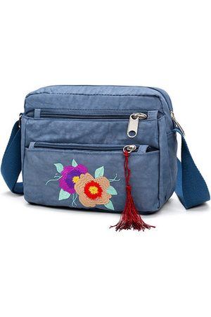 Newchic Women Shoulder Bags - Oxford Embroidery Crossbody Bag