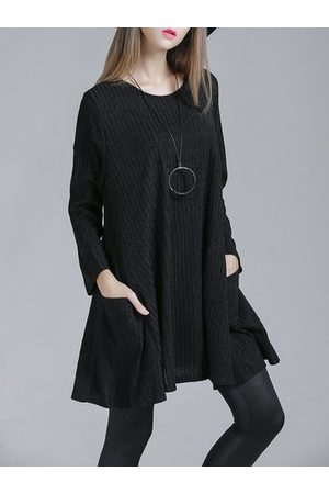 Newchic Women Long Sleeve - YIZHIYU Striped Knitted Long Sleeve Tops