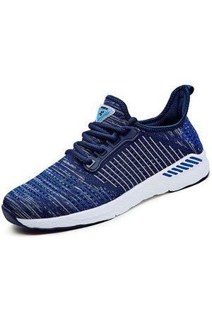 Newchic Men Shoes - Men's Knitted Fabric Running Shoes