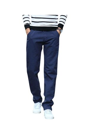 Newchic Men Cargo Pants - Mens Solid Straight Legs Cargo Pants Casual Pants