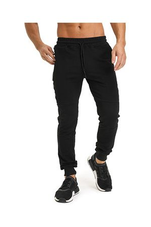 Newchic Men Slim Pants - Mens Solid Color Slim Fit Casual Sport Pants