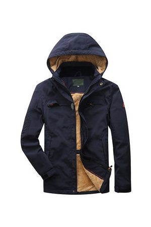 Newchic Men Outdoor Jackets - Plus Size Outdoor Jackets