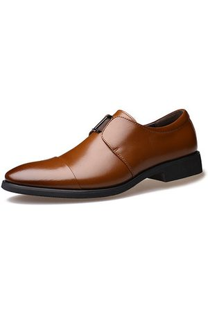 Newchic Men Pointed Toe Business Formal Dress Shoes