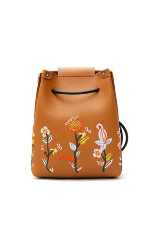 Newchic Women Shoulder Bags - Floral Embroidery Phone Bag