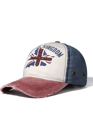 Newchic Men Hats - Men's Cotton Baseball Cap Flag Of Rice Hat