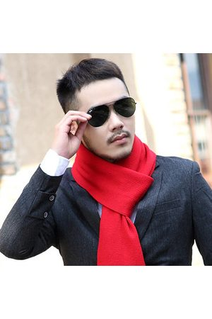 Newchic Men's Solid Knitting Scarves