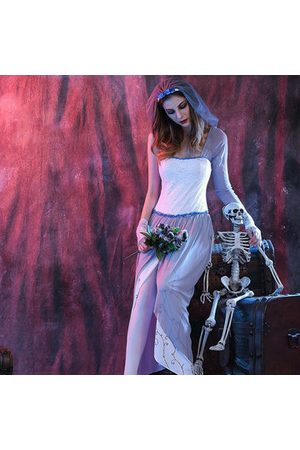 Newchic White Zombie Ghost Bride Cosplay