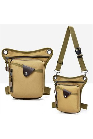Newchic Men Sports Bags - Men Waterproof Sport Canvas Multi-functional Crossbody Bag