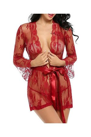 Newchic Sexy Lace Embroidered Hollow Out Nightwear