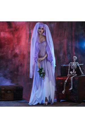 Newchic Women Bathrobes - Role Play Costumes White Zombie