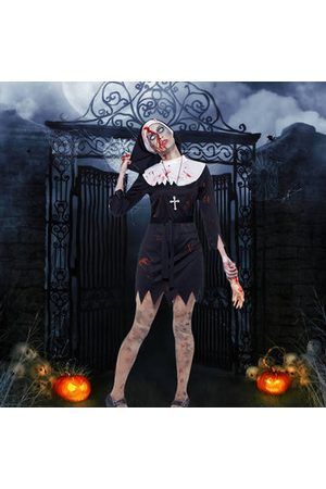 Newchic Horrifying Male Pastor Nun Cosplay Costumes