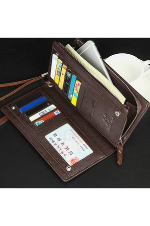Newchic Men Laptop Bags - PU Leather Business Clutches
