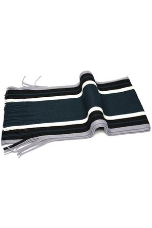 Newchic Men Scarves - Mens Striped Knitted Warm Scarf