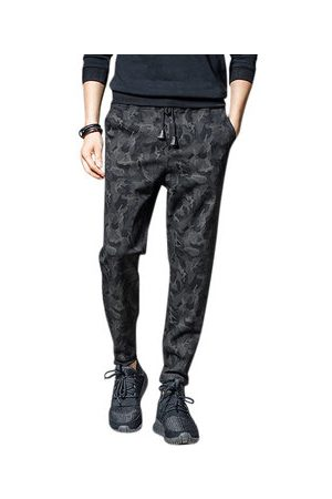Newchic Mens Fashion Skinny Camouflage Harem Pants