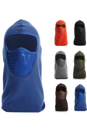 Newchic Men Hats - Full Face Mask Thermal Fleece Balaclava Neck Warmer Winter Ski Cap Cover Hat