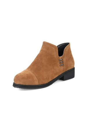 Newchic Slip On Ankle Boots For Women