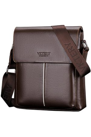 Newchic Men Laptop Bags - Men Simple Business Shoulder Bag Crossbody Bag